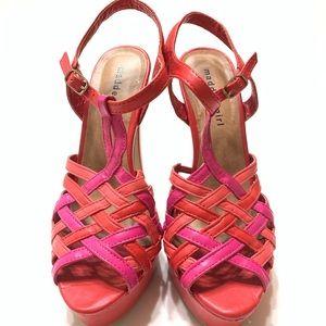 Madden Girl platform heels sz 8